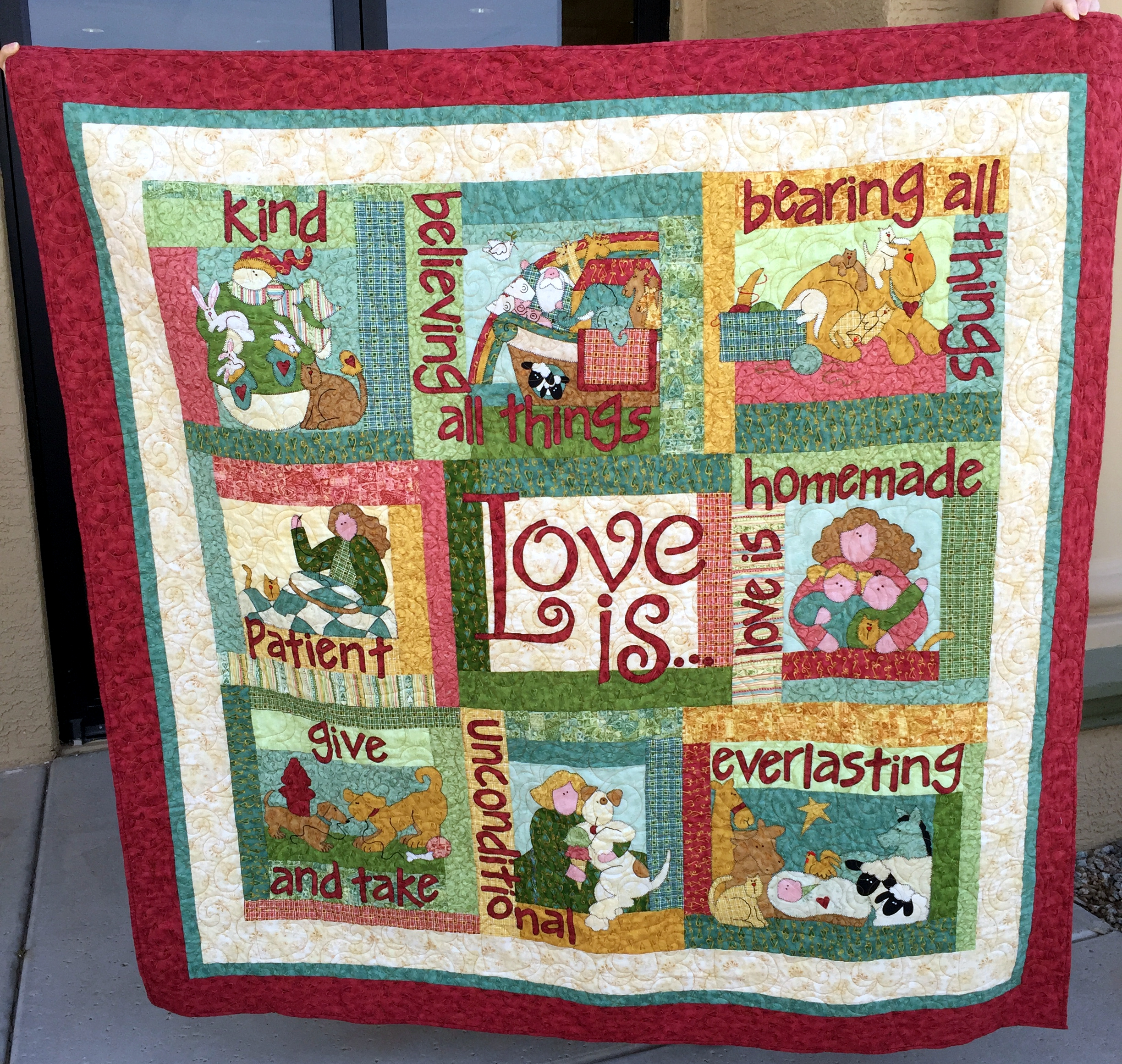 Love is Raffle Quilt